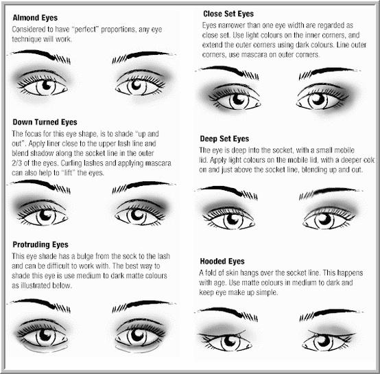Best ways to apply eye shadow for all eye shapes and types.