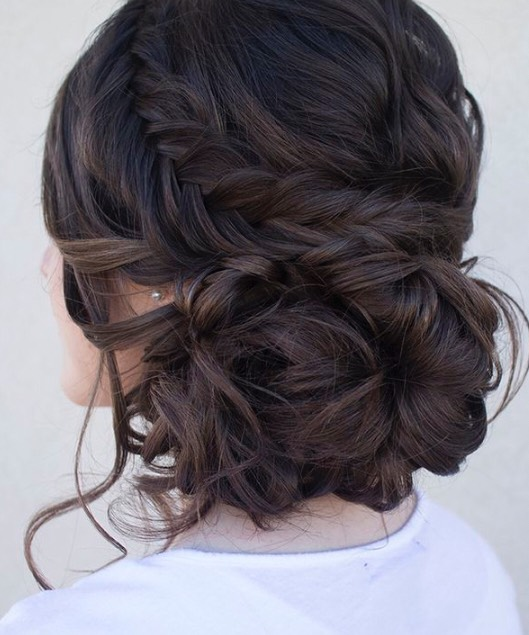 Elegant hair for prom, homecoming, andformal functions.