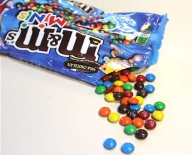 You can use M&Ms or smarties