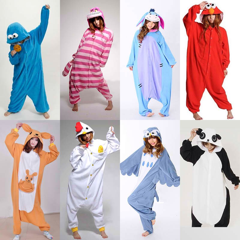 Footy pj are always warm and easy. There are tons of ideas when it comes to these.