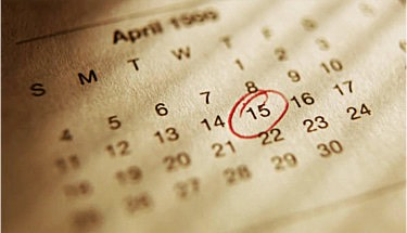 Set up a calendar for everyone! Instead of searching for the dates of picture day and your first exam, set it up on a dry erase calendar - no more sweats on a forgotten picture day!