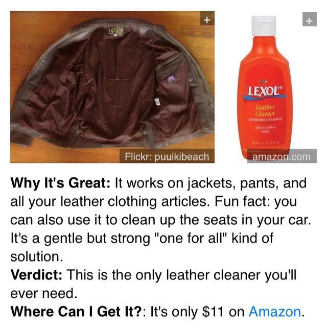 10. Lexol-Ph Leather Cleaner