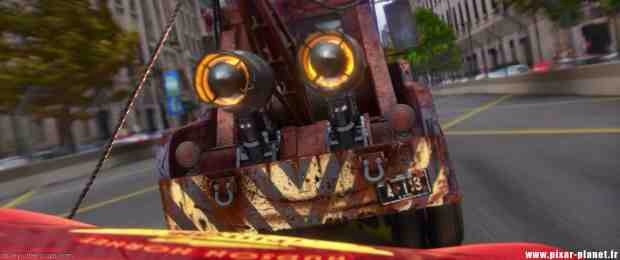 """...and again on Mater's license plate in """"Cars 2."""""""