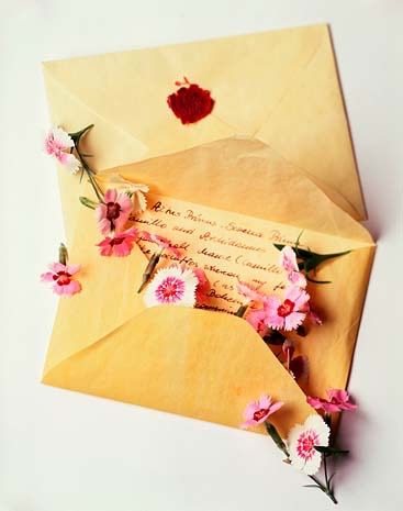 Write her a love letter some girls will think it's really sweet