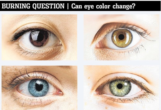 Eye color is one of the most unique things about us; it is the first thing people notice when meeting someone new, and is responsible for showing a major aspect of personality. However, if you're unhappy with your eye color, you may need to do a bit of research before trying to change it.