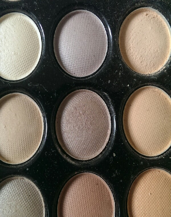 then add a dark brown shimmery eyeshadow withba tint of purple (great for brown eyes) on the outer corner of the eye, into the crease and stopping near the middle of the eye