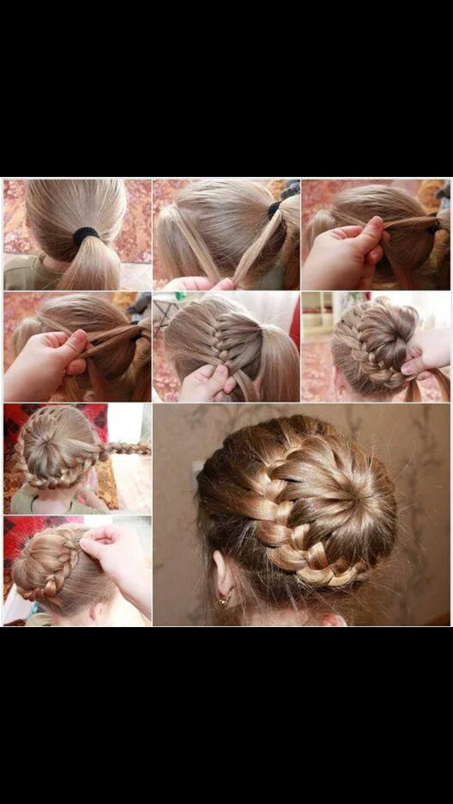 Here's a step by step image to achieve this looks. This is so simple & easy plus it's gorgeous.