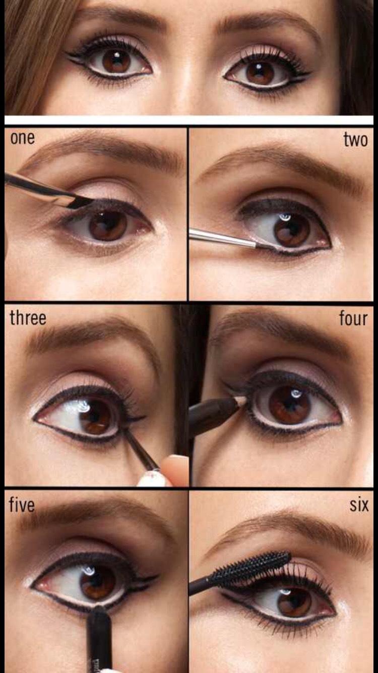 Double flick eyeliner look