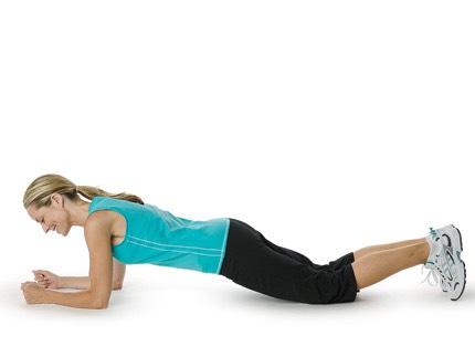 45 second plank