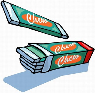 Chewing gum also tricks your mind into thinking your eating and they contain few calories