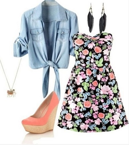 This is the spring outfit and it is very colorful and light.  Need the perfume turn the page!! 😝➡️➡️➡️