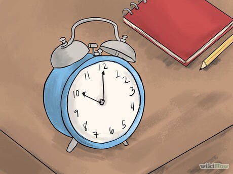 3. Keep your alarm close to your bed. If you have to get out of bed to turn it off, you will be more likely to forget what you were dreaming about. Set your alarm to go off after you've gotten an adequate amount of sleep.