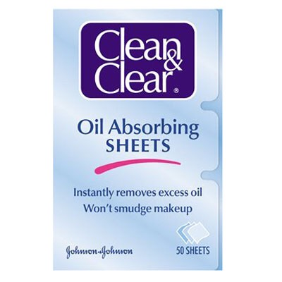Blotting sheets if you have oily skin