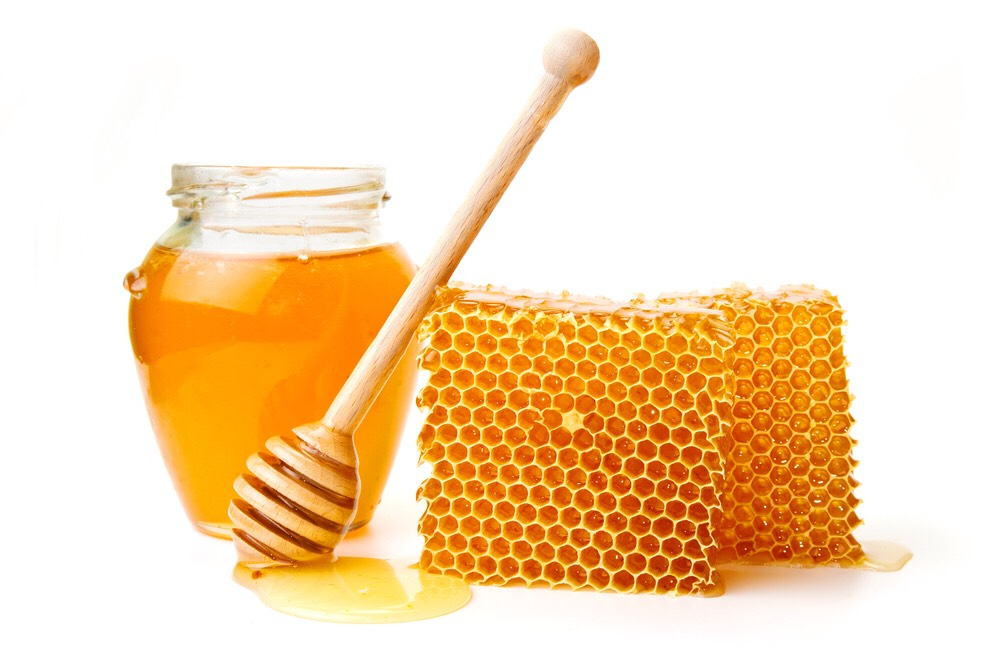 Honey:  • face mask • pore cleanser • hair mask • hair lightener • fades scars • exfoliant  • treats acne  • bath soak • cuticle moisturizer  • shampoo booster • sunburn treatment