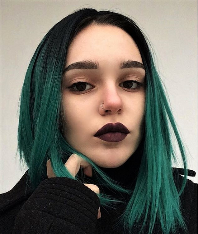 Best 25 Green Hair Color Ideas