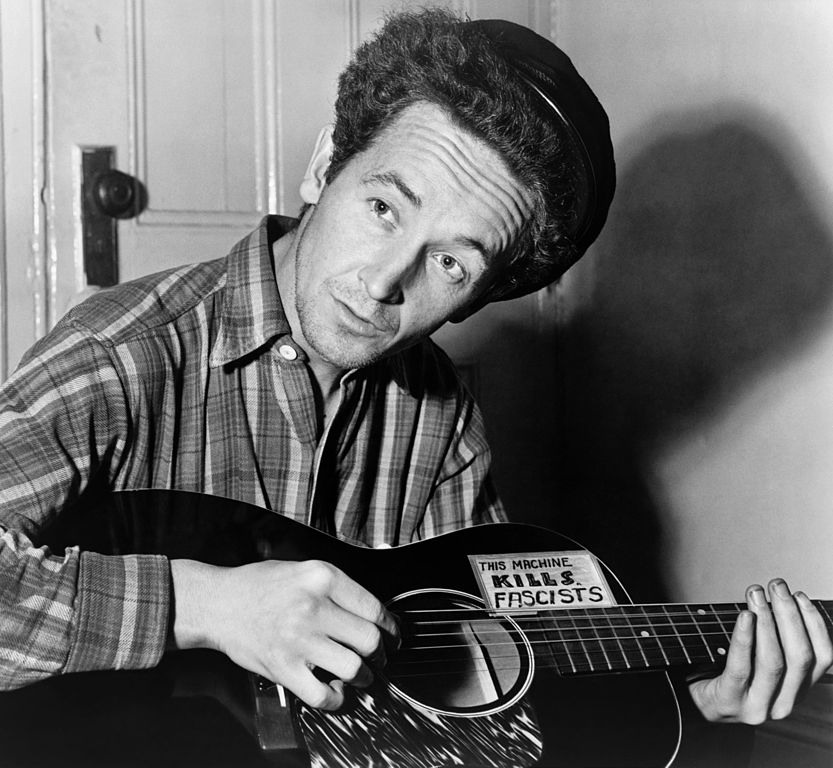 Woodie Guthrie – This Land Is Your Land Is a response to Irving Berlin – God Bless America