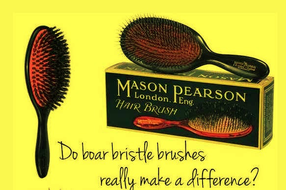 24. Instead of applying anti-frizz or shine treatment, use a boar bristle brush as you're styling and/or blow drying.   A boar bristle brush will pull the natural oils from your scalp into your hair.