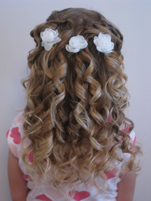 Simple girls hair styles of any occasion.