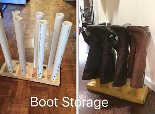 5. Store your boots.
