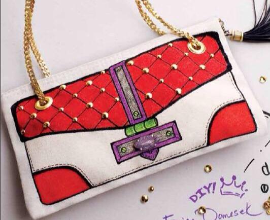 Custom purse.