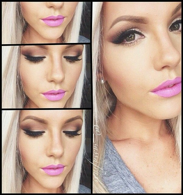 my favorite brand of lip color is Urban Decay but could easily do this with something less expensive
