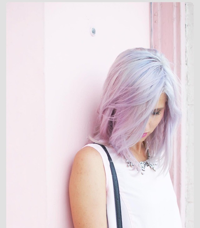 Beautiful Pantone Hairstyle