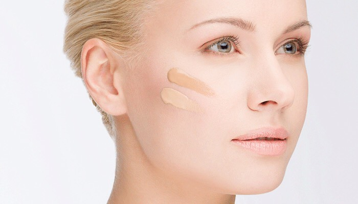 3. If you accidentally purchase a foundation that's too dark, adding a bit of moisturizer to your mix can help lighten it.