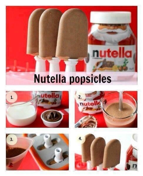Nutella Popsicles!!!