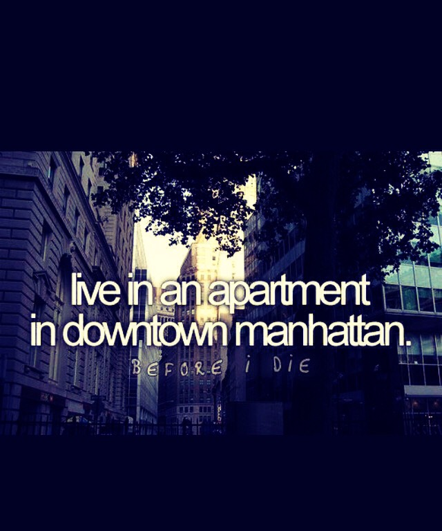 Have an apartment