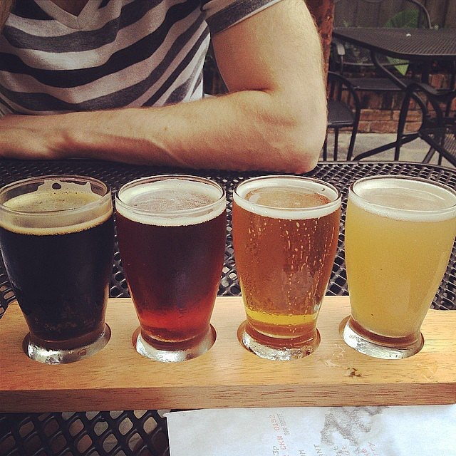 38. Try out beer tasting