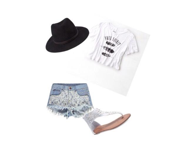 Shirt- ae.com  Shorts - boohoo.com  Shoes - wetseal.com  Hat - forever21.com