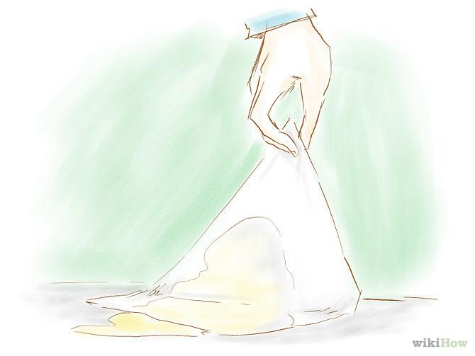 Soak up as much of the urine as possible with paper towels. Try to get to the accident as soon as possible to limit the amount of urine that soaks through to the carpet pad.