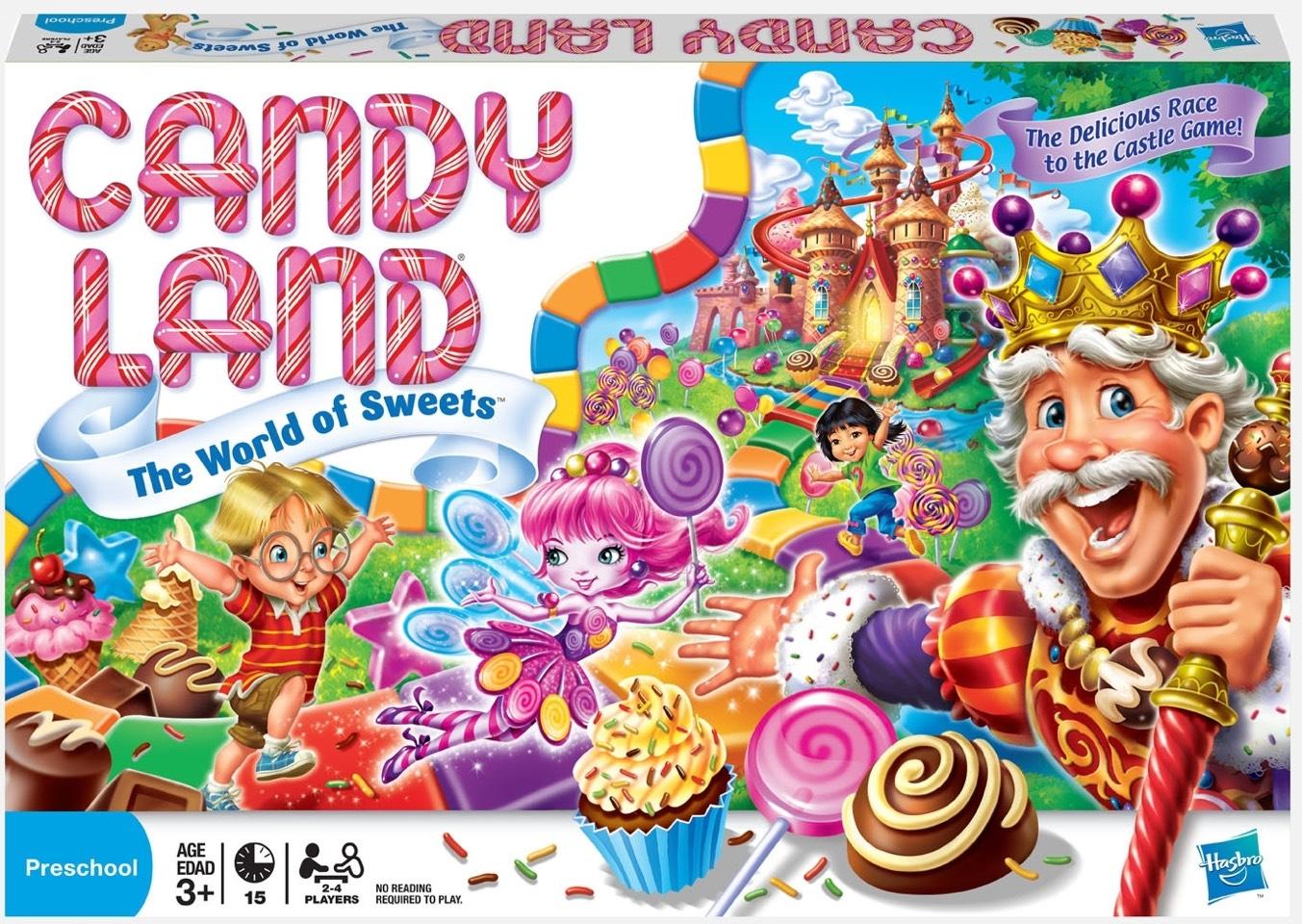 3.) candy land!