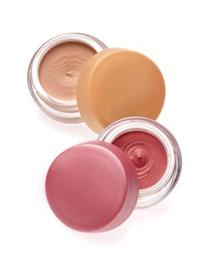 1. Make A Cream Blush Sometimes, powder products don't last as long as cream or liquid products. If you're looking to make your blush last a little longer, mix some with your foundation to create a custom cream blush.