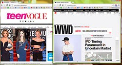 3) Buy magazines like Teen Vogue, and keep an eye on websites like Women's Wear Daily for hot fashion. Make sure you're on top of the latest styles and crazes.