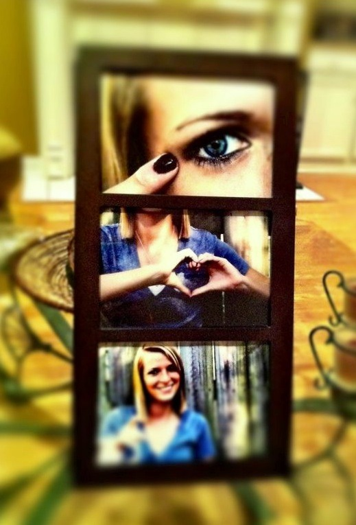 """Eye ❤️ you"" picture frame😊"
