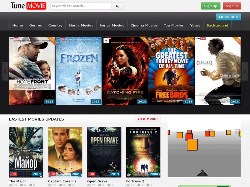 free cinema movies online no sign up