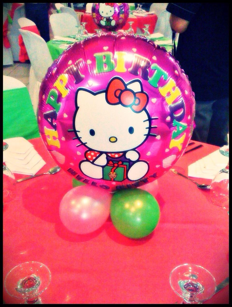 Maries Manor Hello Kitty: Cheap Hello Kitty Inspired Centerpiece By Regel Marie