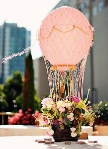 --> Hot Air Balloon Centerpiece.