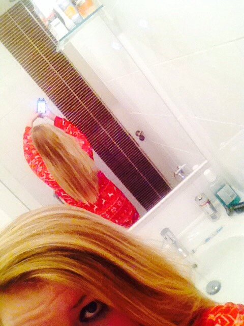 From the back!!🙅💆💇🙋💁🙆