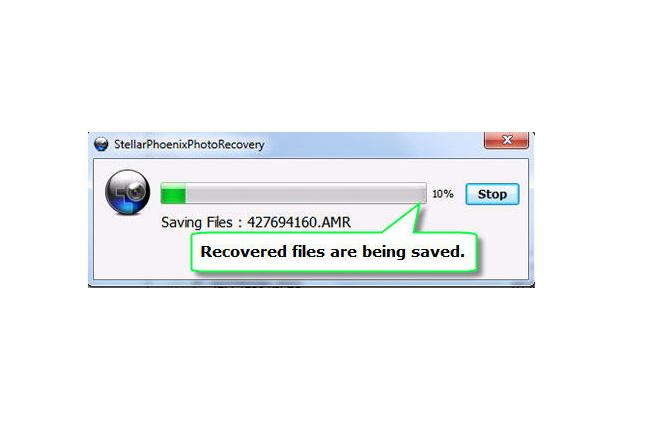 Step 6 – Select the desired location to save the recovered files.
