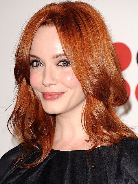 If you have bright sparkling green eyes and a pale complexion, a cinnamon/auburn colour would look stunning!