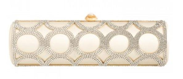 The glamorous bride will love this  Amanda Pearl Marilyn Clutch for a touch of old Hollywood style.
