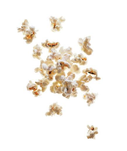 Sesame Popcorn  Toss 4 cups popped popcorn with ½ teaspoon toasted sesame oil and ½ teaspoon sesame seeds.  152 Calories   5g Fiber   4g Protein   4g Fat  