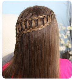 This is a beautiful ladder braid