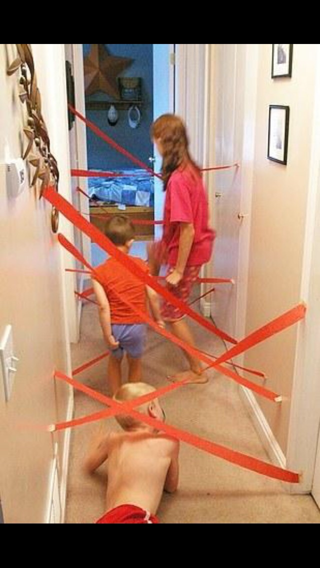 Make obstacle courses
