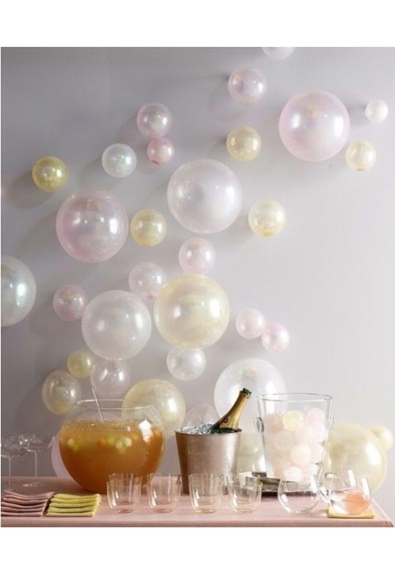 I personally would do this balloon design with sodas or any other drinks! 😉