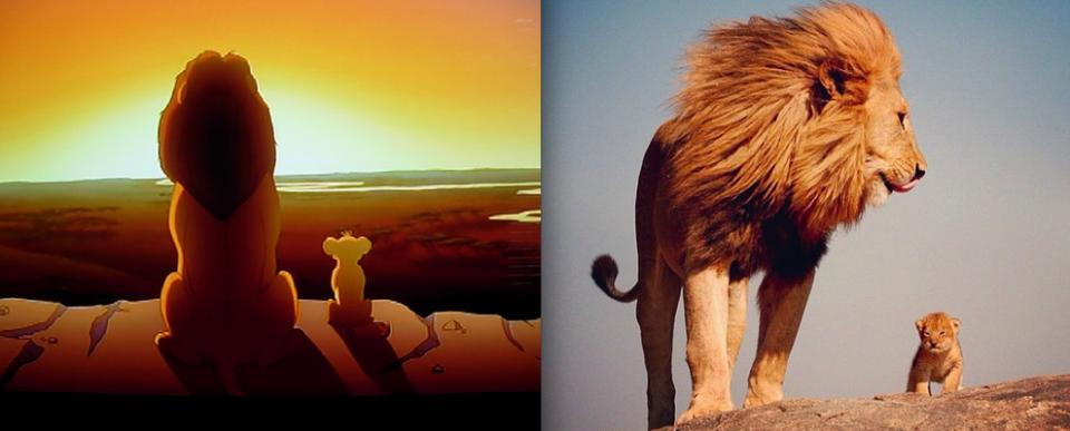 """""""The Lion King"""" - Mufasa and Simba"""