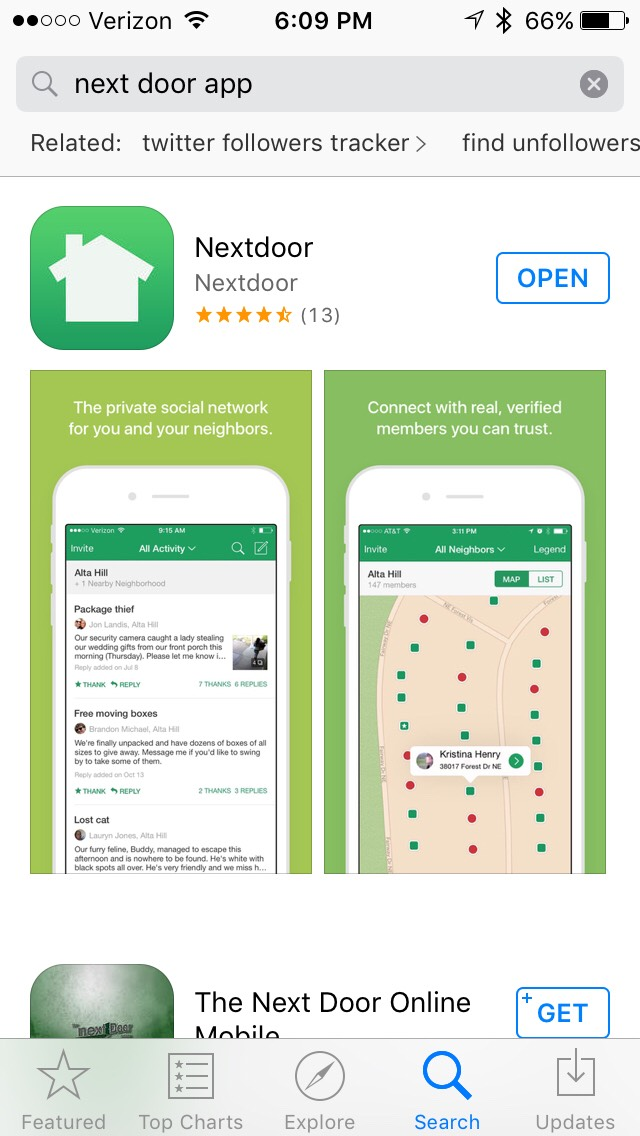Help keep your neighborhood safe by using this app.