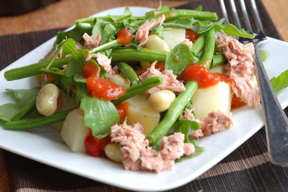 5. Tuna and Green Bean Salad